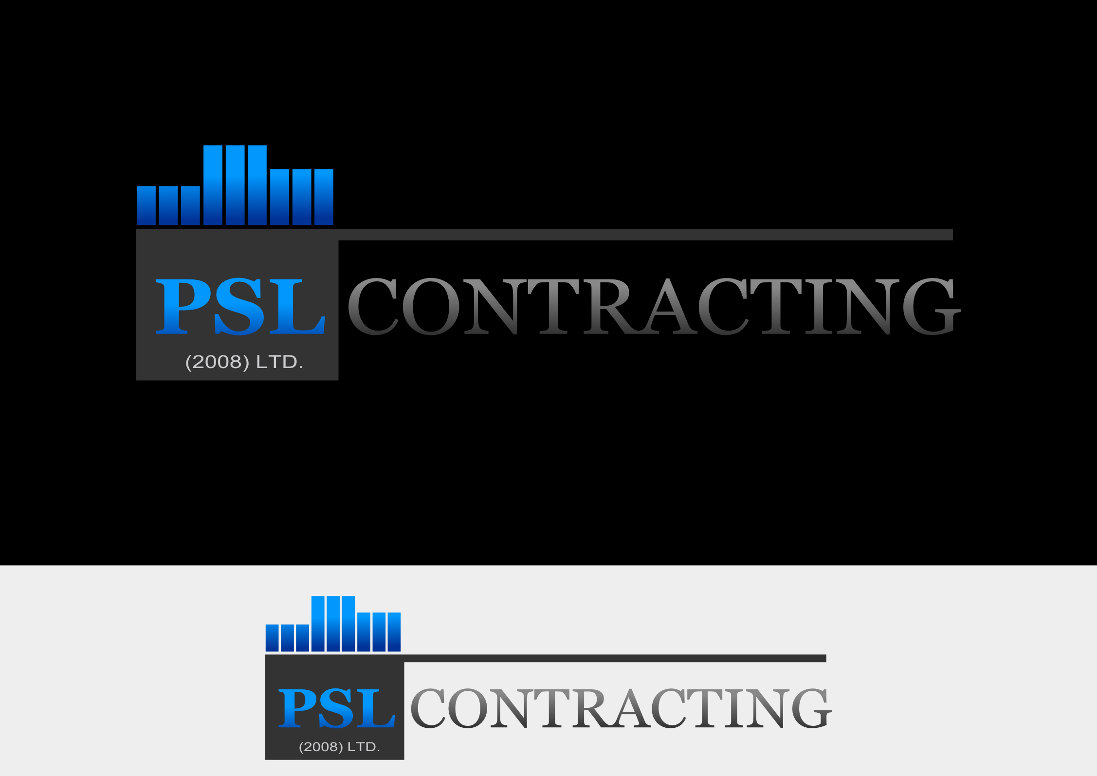 Logo Design by whoosef - Entry No. 27 in the Logo Design Contest PSL Contracting (2008) Ltd. Logo Design.