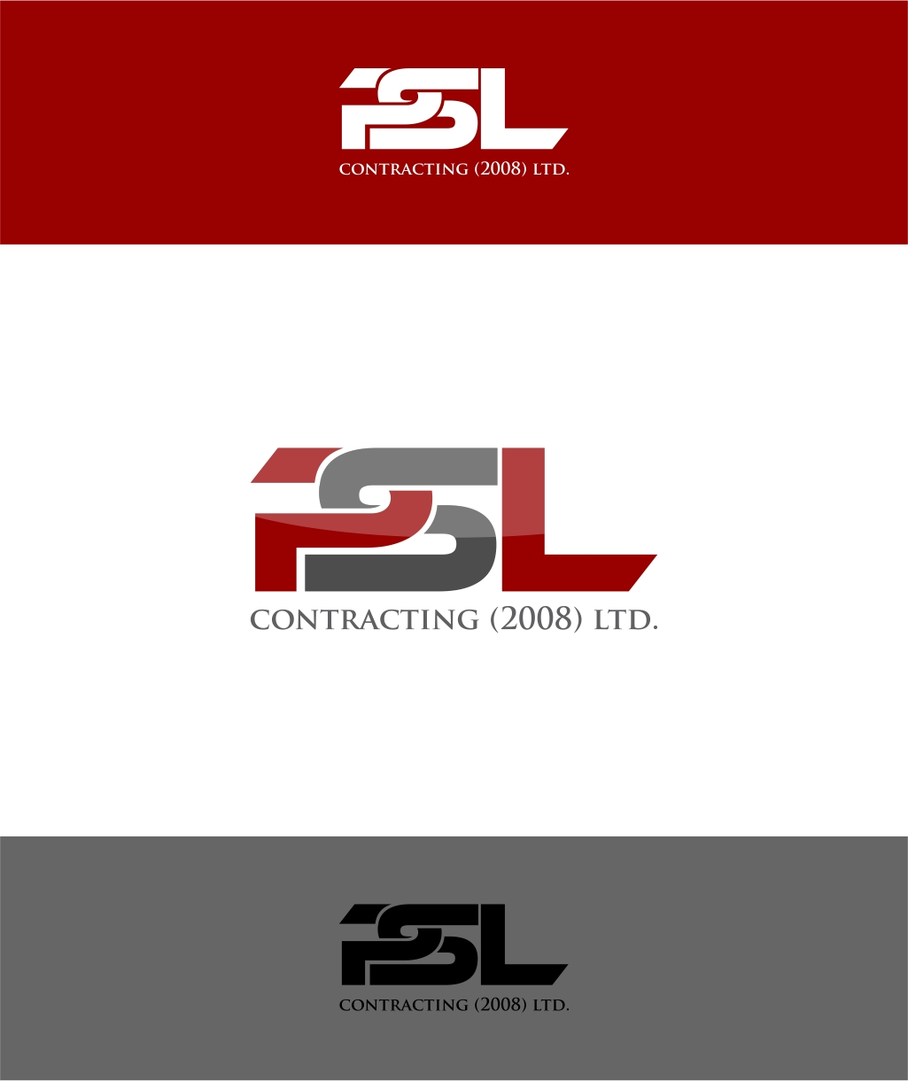 Logo Design by haidu - Entry No. 30 in the Logo Design Contest PSL Contracting (2008) Ltd. Logo Design.