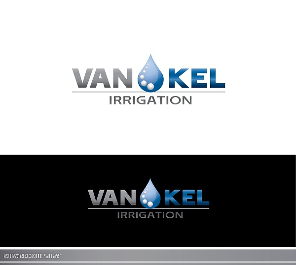 Logo Design by kowreck - Entry No. 308 in the Logo Design Contest Van-Kel Irrigation Logo Design.