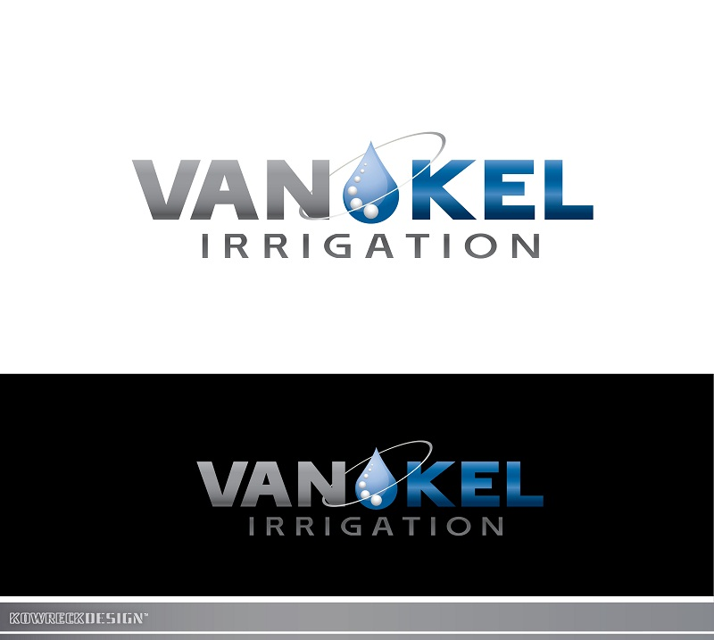 Logo Design by kowreck - Entry No. 312 in the Logo Design Contest Van-Kel Irrigation Logo Design.