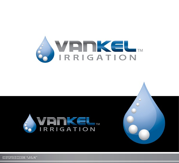 Logo Design by kowreck - Entry No. 313 in the Logo Design Contest Van-Kel Irrigation Logo Design.