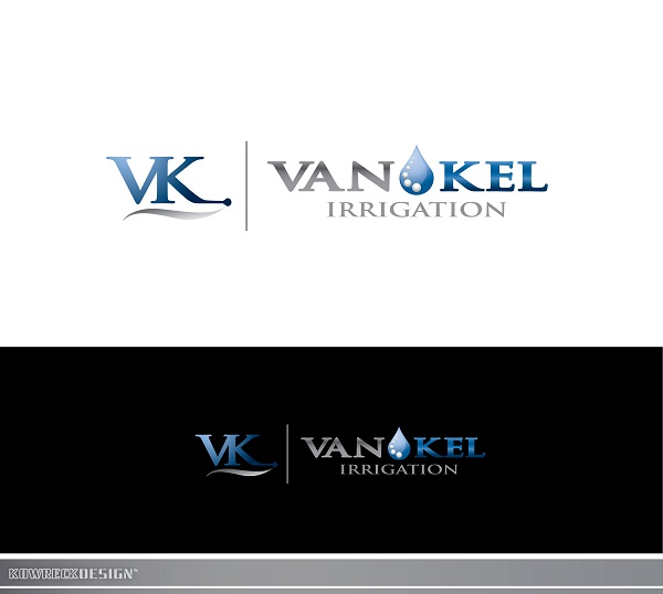 Logo Design by kowreck - Entry No. 314 in the Logo Design Contest Van-Kel Irrigation Logo Design.