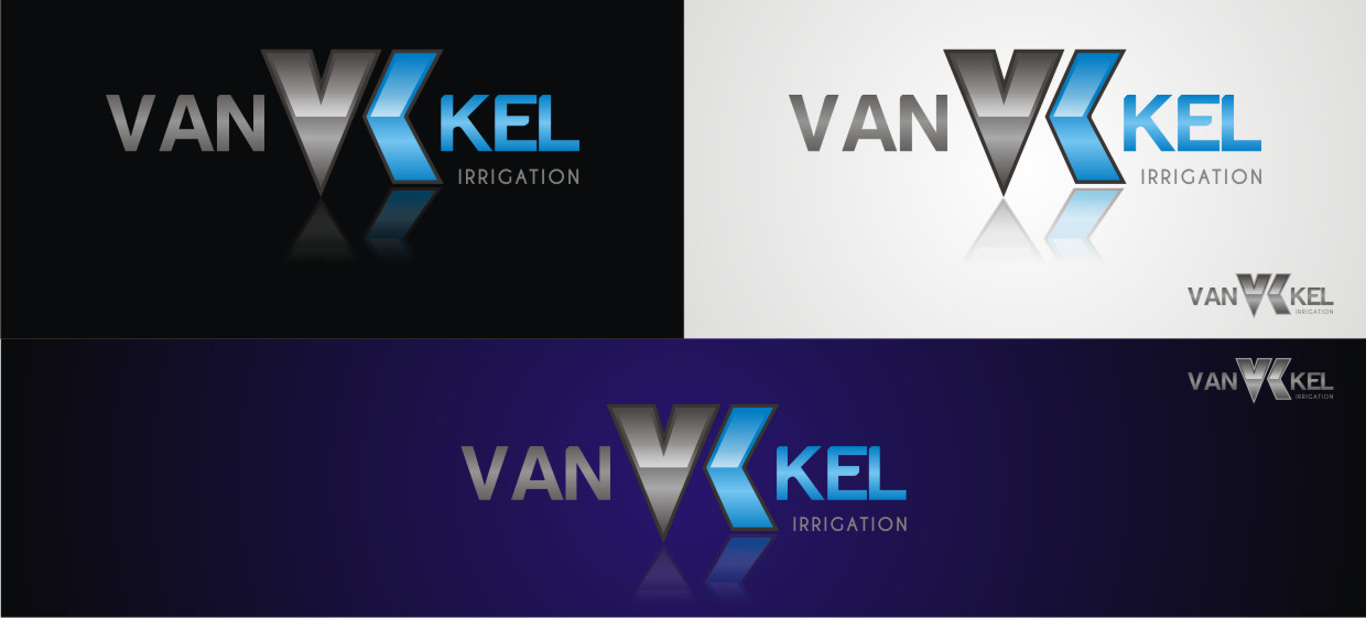 Logo Design by Private User - Entry No. 315 in the Logo Design Contest Van-Kel Irrigation Logo Design.