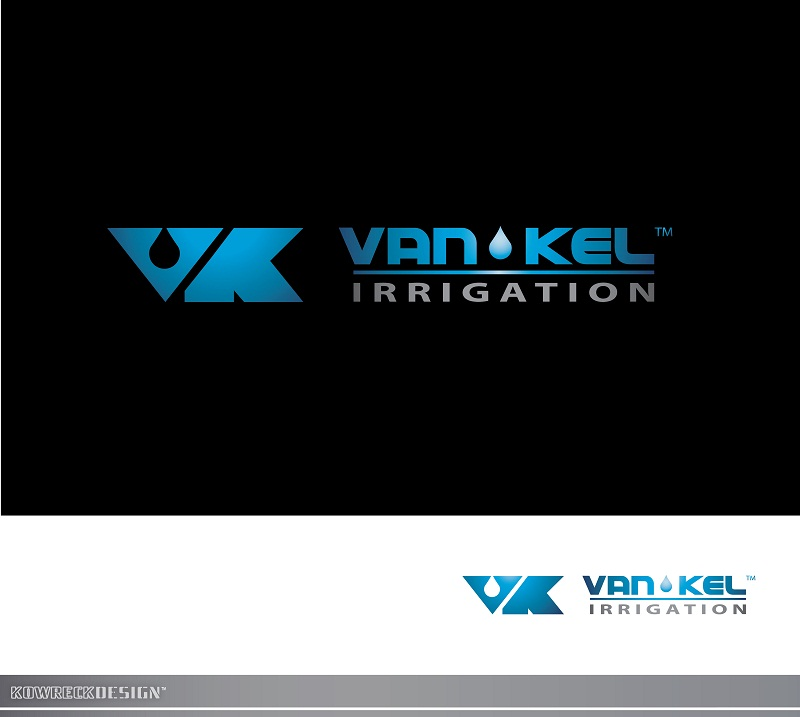 Logo Design by kowreck - Entry No. 317 in the Logo Design Contest Van-Kel Irrigation Logo Design.