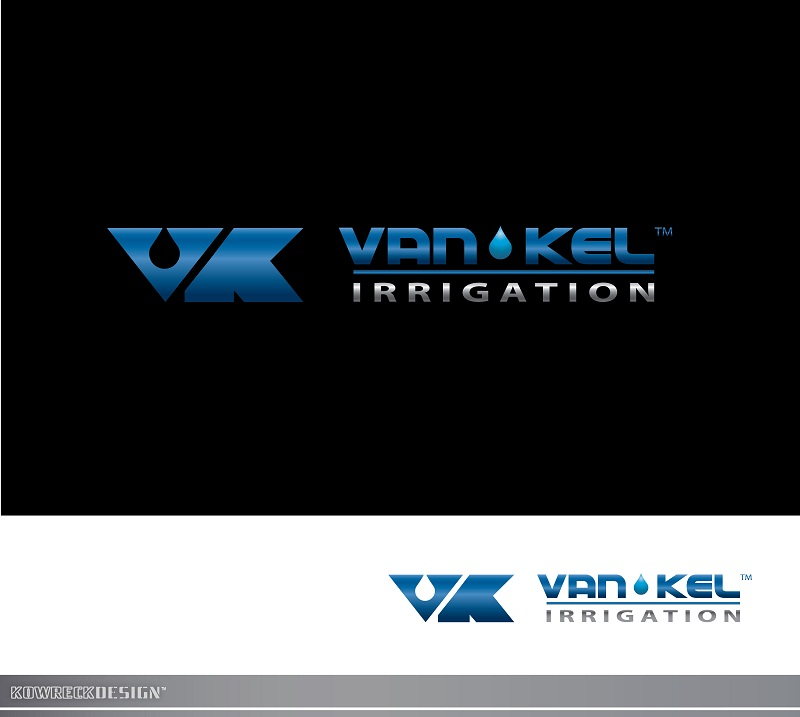Logo Design by kowreck - Entry No. 318 in the Logo Design Contest Van-Kel Irrigation Logo Design.