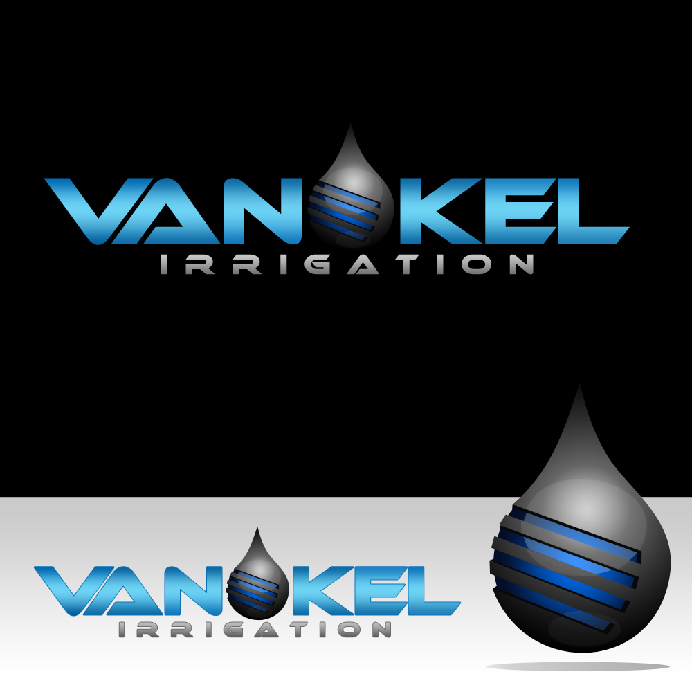 Logo Design by omARTist - Entry No. 320 in the Logo Design Contest Van-Kel Irrigation Logo Design.