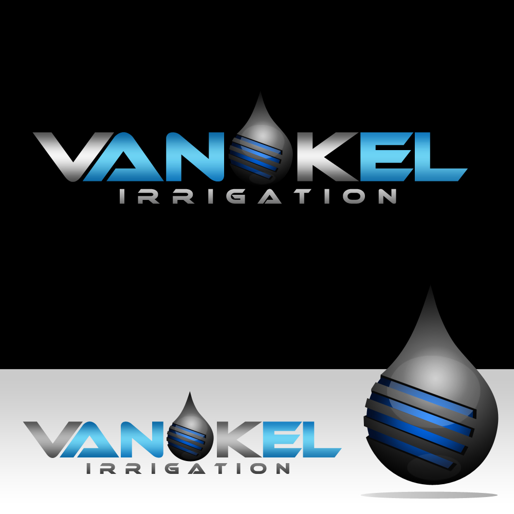 Logo Design by omARTist - Entry No. 321 in the Logo Design Contest Van-Kel Irrigation Logo Design.