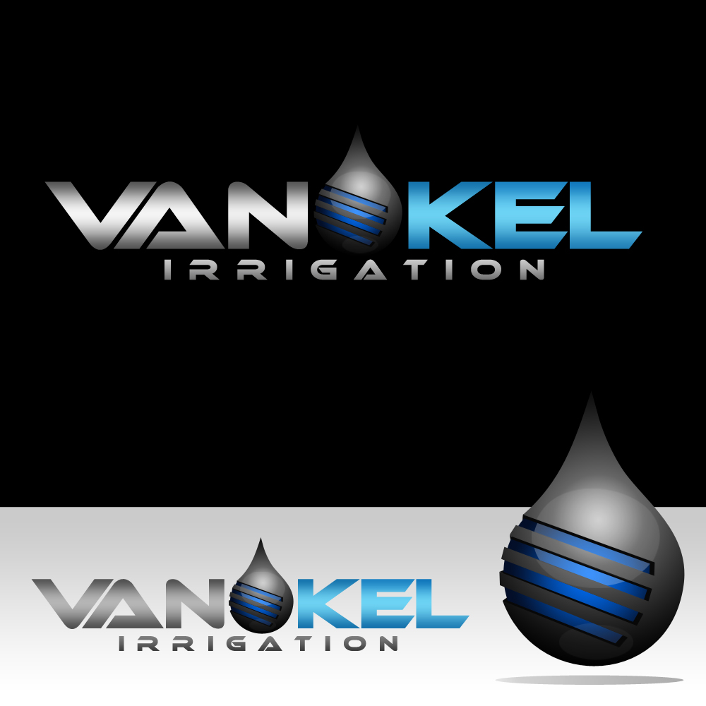 Logo Design by omARTist - Entry No. 323 in the Logo Design Contest Van-Kel Irrigation Logo Design.