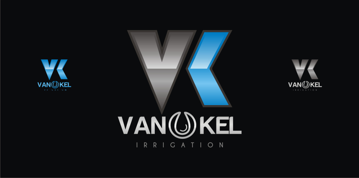 Logo Design by Private User - Entry No. 325 in the Logo Design Contest Van-Kel Irrigation Logo Design.