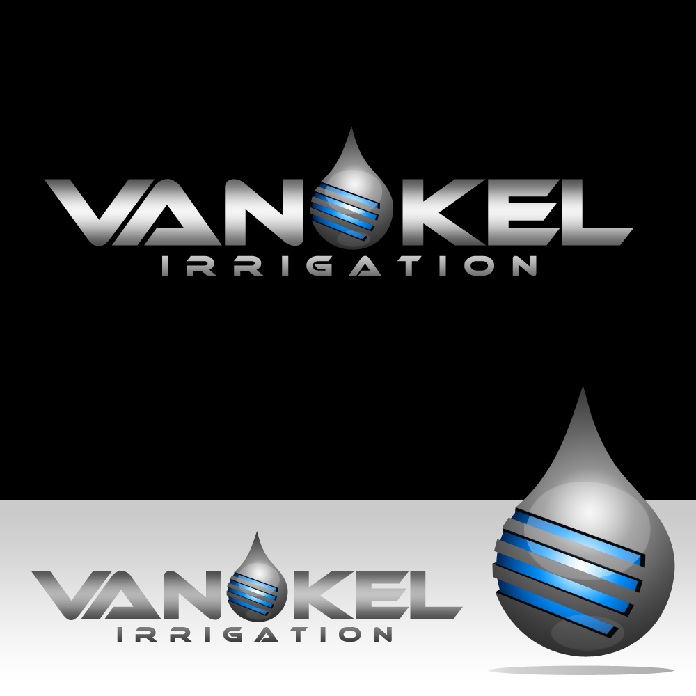 Logo Design by omARTist - Entry No. 332 in the Logo Design Contest Van-Kel Irrigation Logo Design.