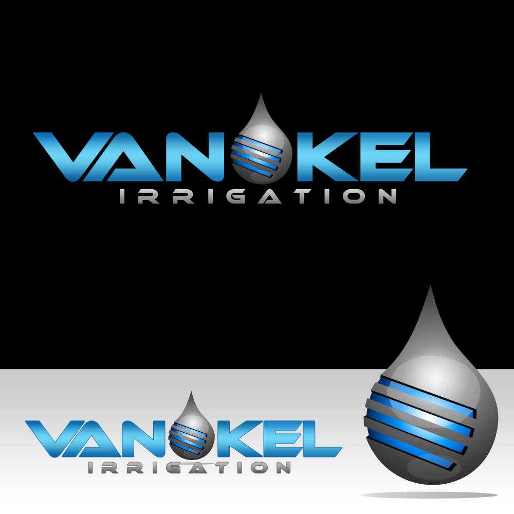 Logo Design by omARTist - Entry No. 337 in the Logo Design Contest Van-Kel Irrigation Logo Design.