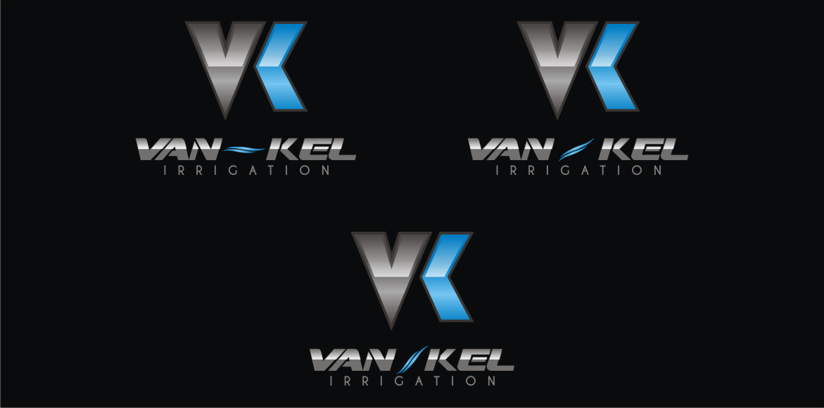 Logo Design by Private User - Entry No. 341 in the Logo Design Contest Van-Kel Irrigation Logo Design.