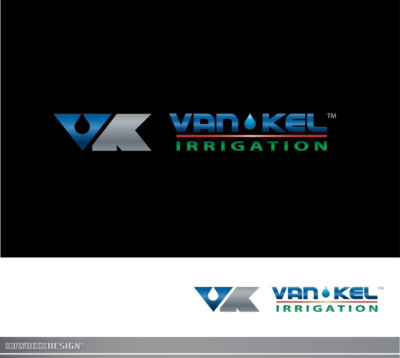 Logo Design by kowreck - Entry No. 344 in the Logo Design Contest Van-Kel Irrigation Logo Design.
