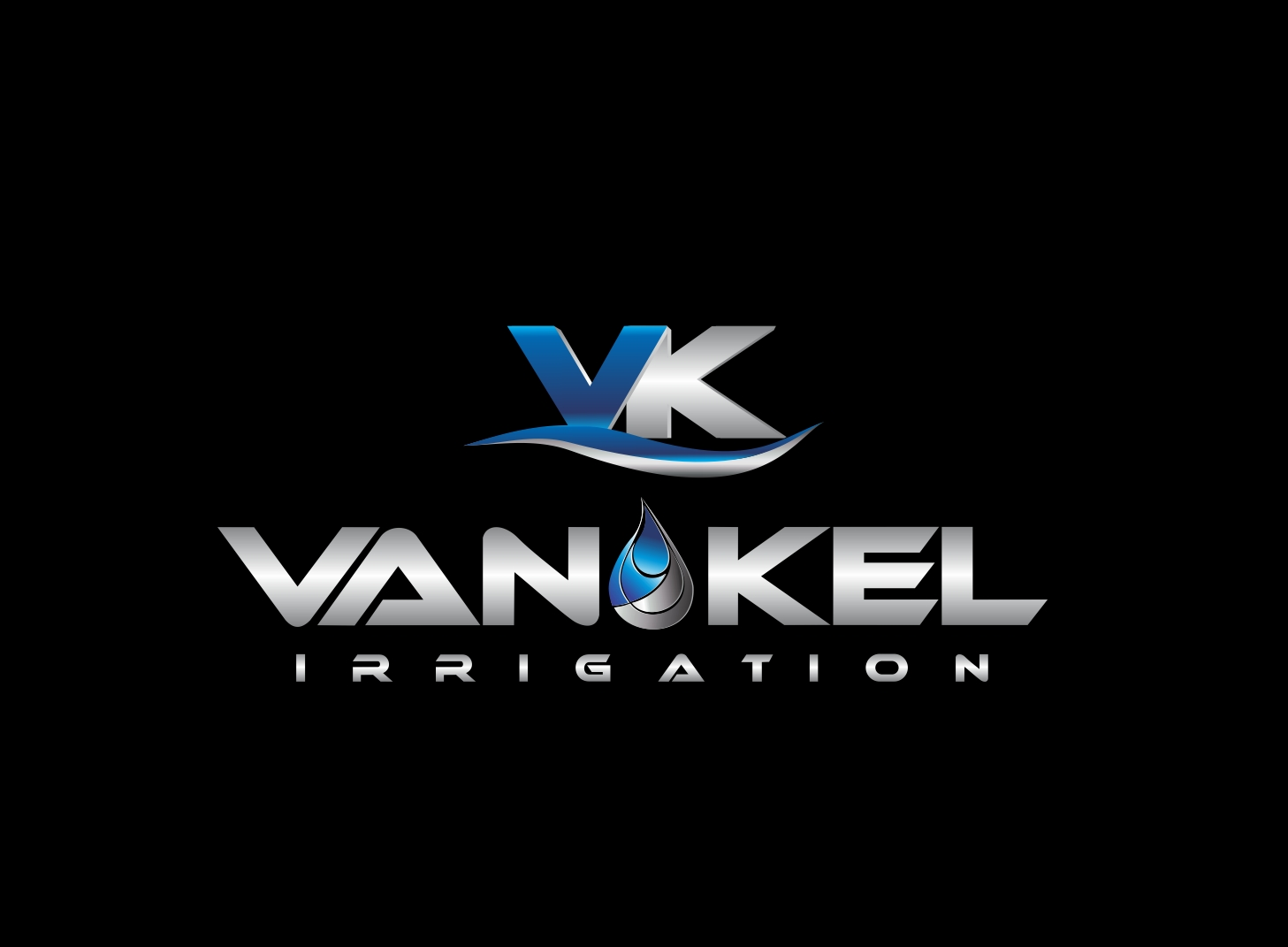 Logo Design by Zdravko Krulj - Entry No. 347 in the Logo Design Contest Van-Kel Irrigation Logo Design.