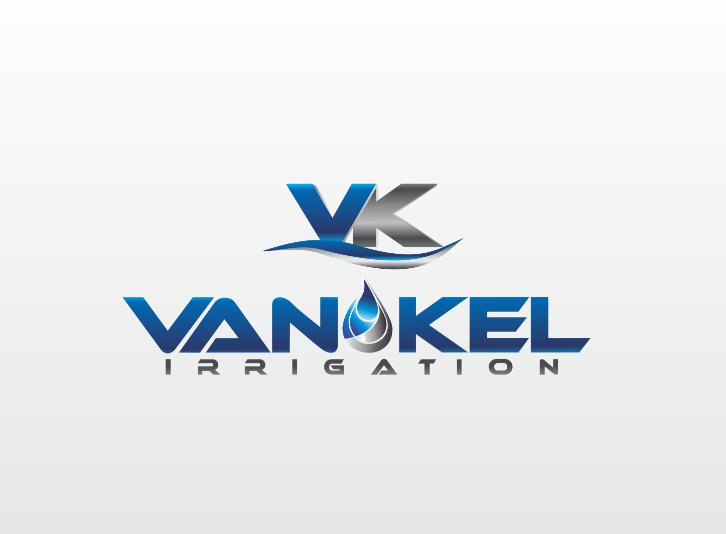Logo Design by Zdravko Krulj - Entry No. 349 in the Logo Design Contest Van-Kel Irrigation Logo Design.