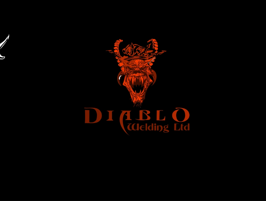 Logo Design by Private User - Entry No. 68 in the Logo Design Contest New Logo Design for Diablo Welding Ltd..