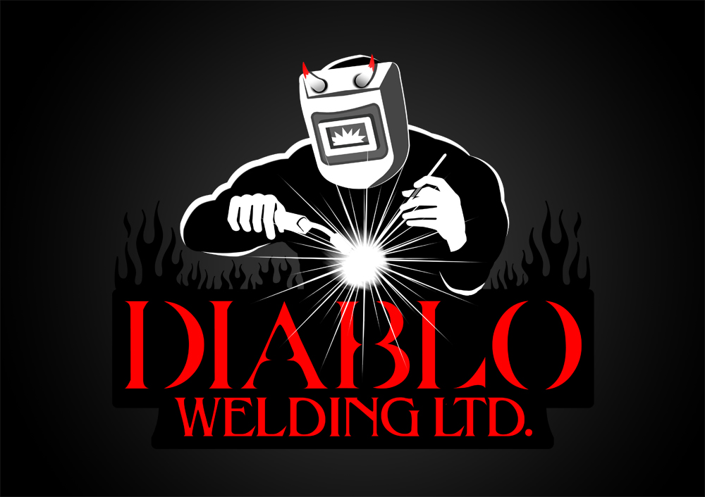 Logo Design by Private User - Entry No. 72 in the Logo Design Contest New Logo Design for Diablo Welding Ltd..