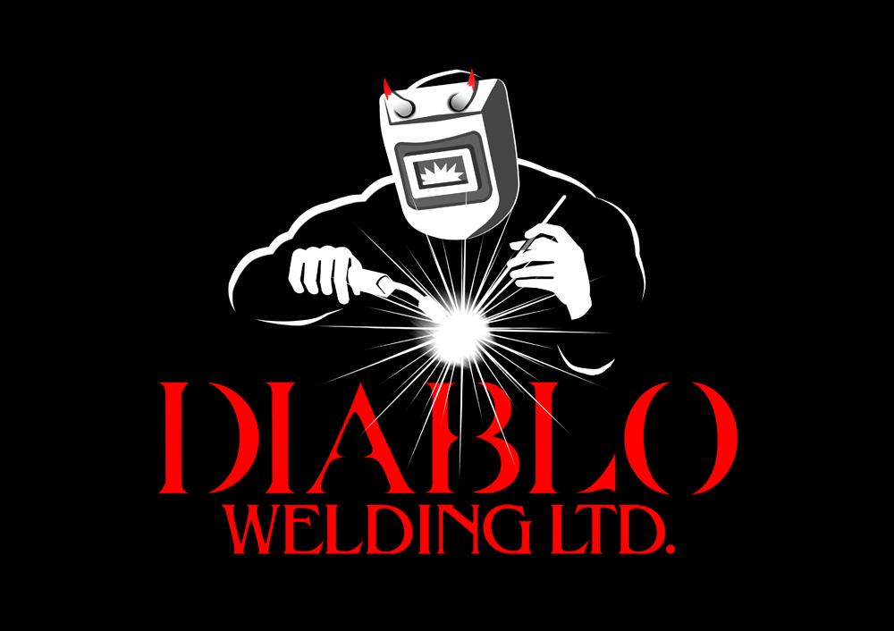 Logo Design by Private User - Entry No. 73 in the Logo Design Contest New Logo Design for Diablo Welding Ltd..