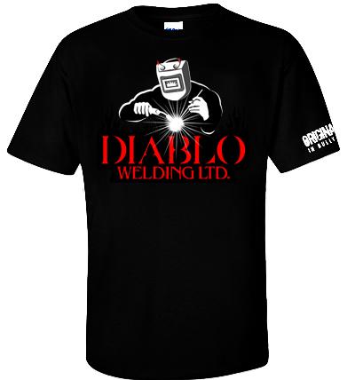 Logo Design by Private User - Entry No. 74 in the Logo Design Contest New Logo Design for Diablo Welding Ltd..
