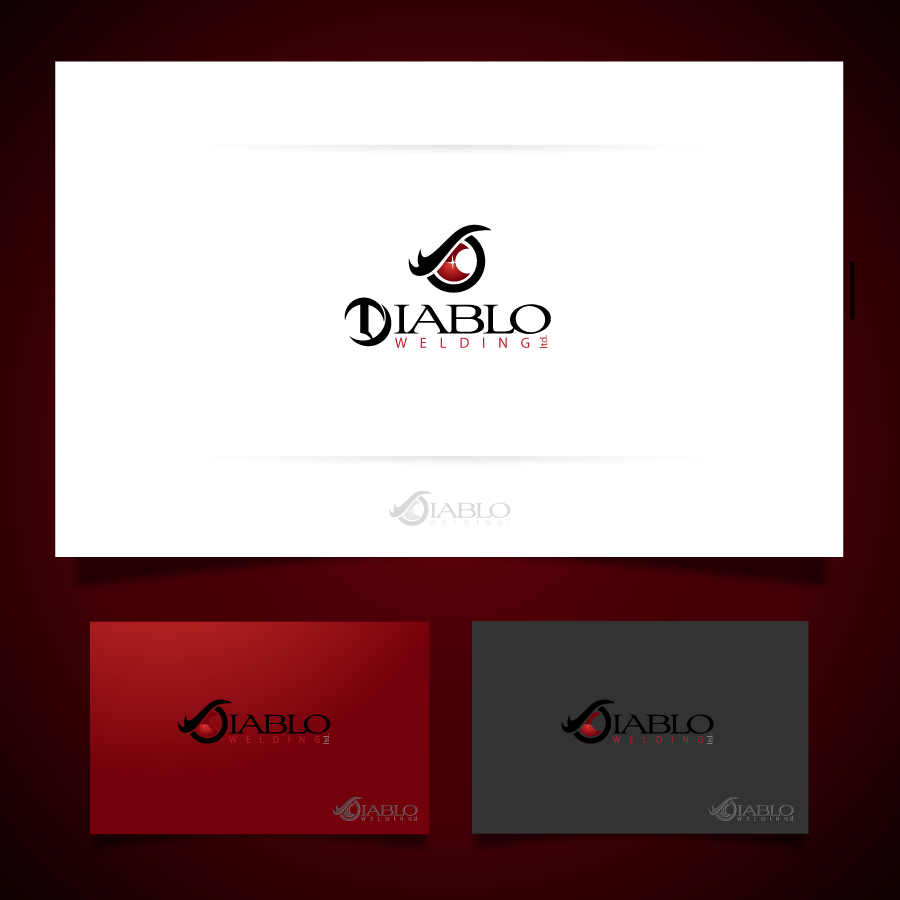 Logo Design by zesthar - Entry No. 75 in the Logo Design Contest New Logo Design for Diablo Welding Ltd..