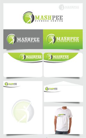 Logo Design by Private User - Entry No. 25 in the Logo Design Contest New Logo Design for Mashpee Fitness Center.