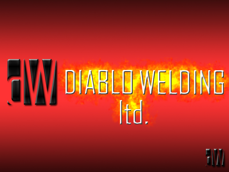 Logo Design by Aljohn Mana-ay - Entry No. 77 in the Logo Design Contest New Logo Design for Diablo Welding Ltd..