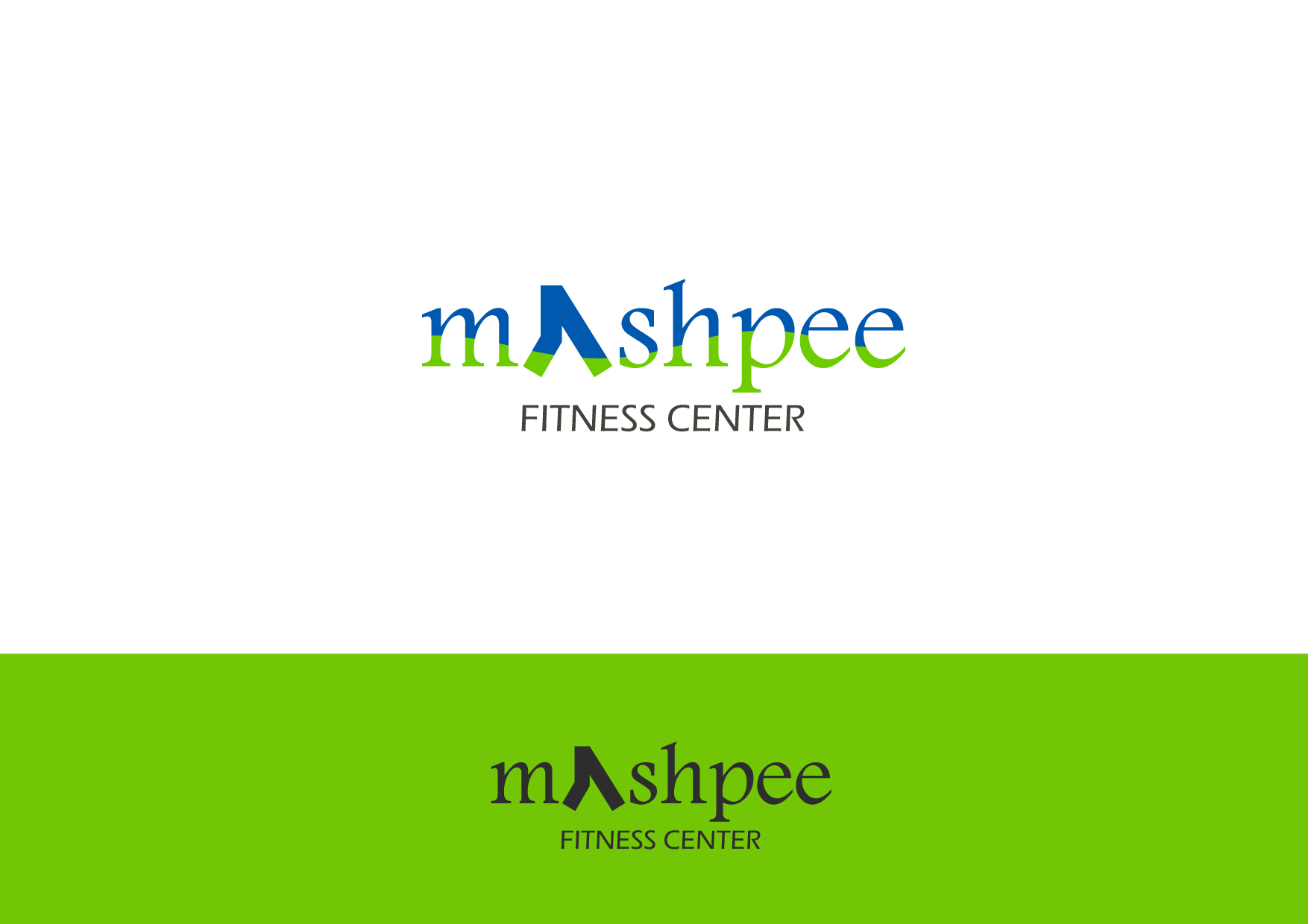 Logo Design by Osi Indra - Entry No. 32 in the Logo Design Contest New Logo Design for Mashpee Fitness Center.