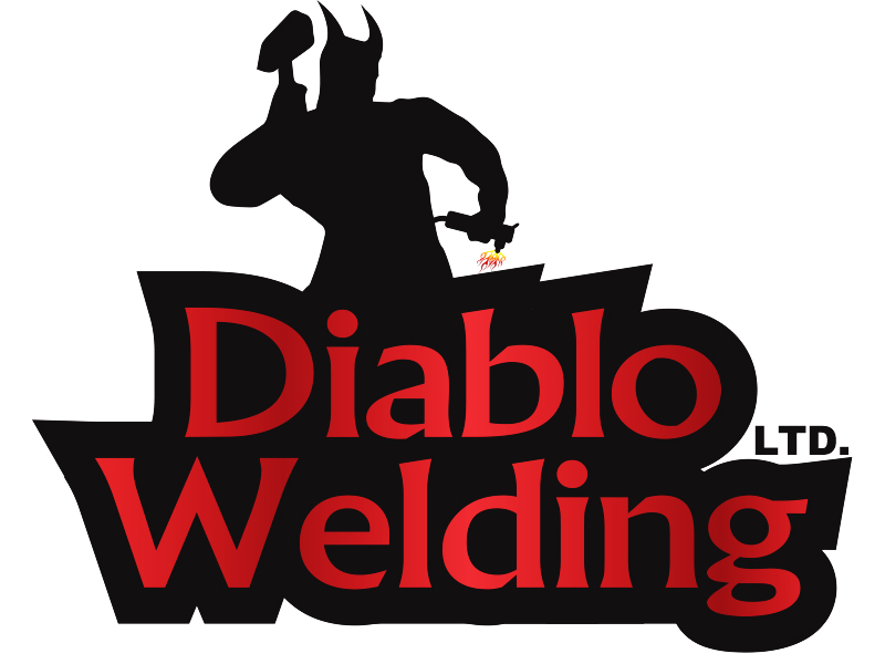 Logo Design by Mythos Designs - Entry No. 78 in the Logo Design Contest New Logo Design for Diablo Welding Ltd..