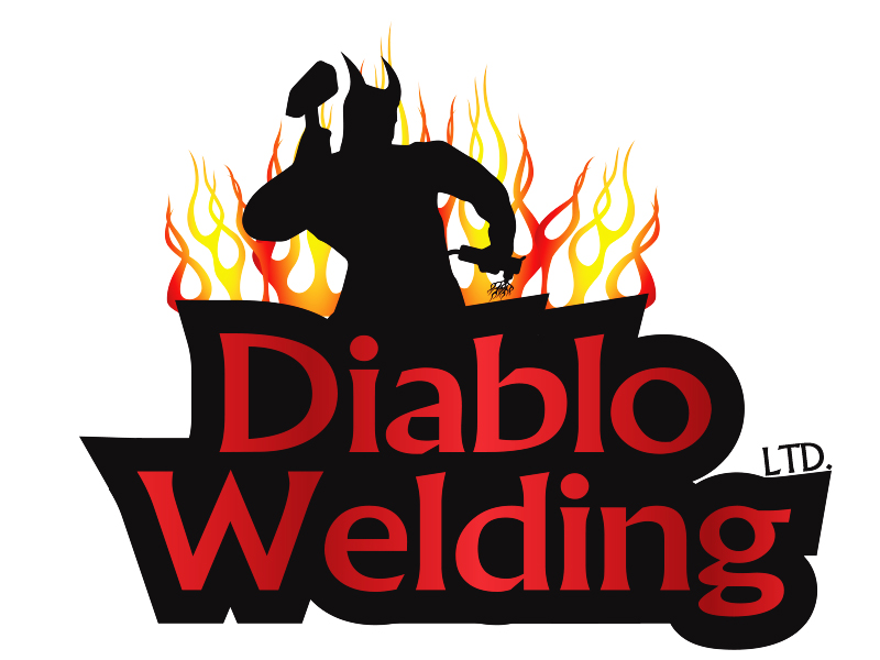 Logo Design by Mythos Designs - Entry No. 81 in the Logo Design Contest New Logo Design for Diablo Welding Ltd..