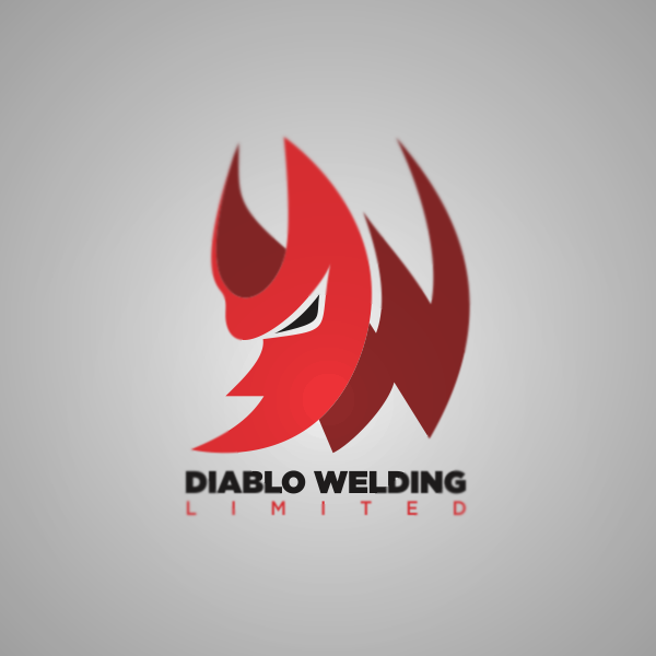 Logo Design by Private User - Entry No. 83 in the Logo Design Contest New Logo Design for Diablo Welding Ltd..