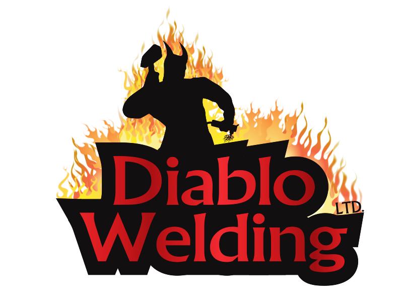 Logo Design by Mythos Designs - Entry No. 84 in the Logo Design Contest New Logo Design for Diablo Welding Ltd..