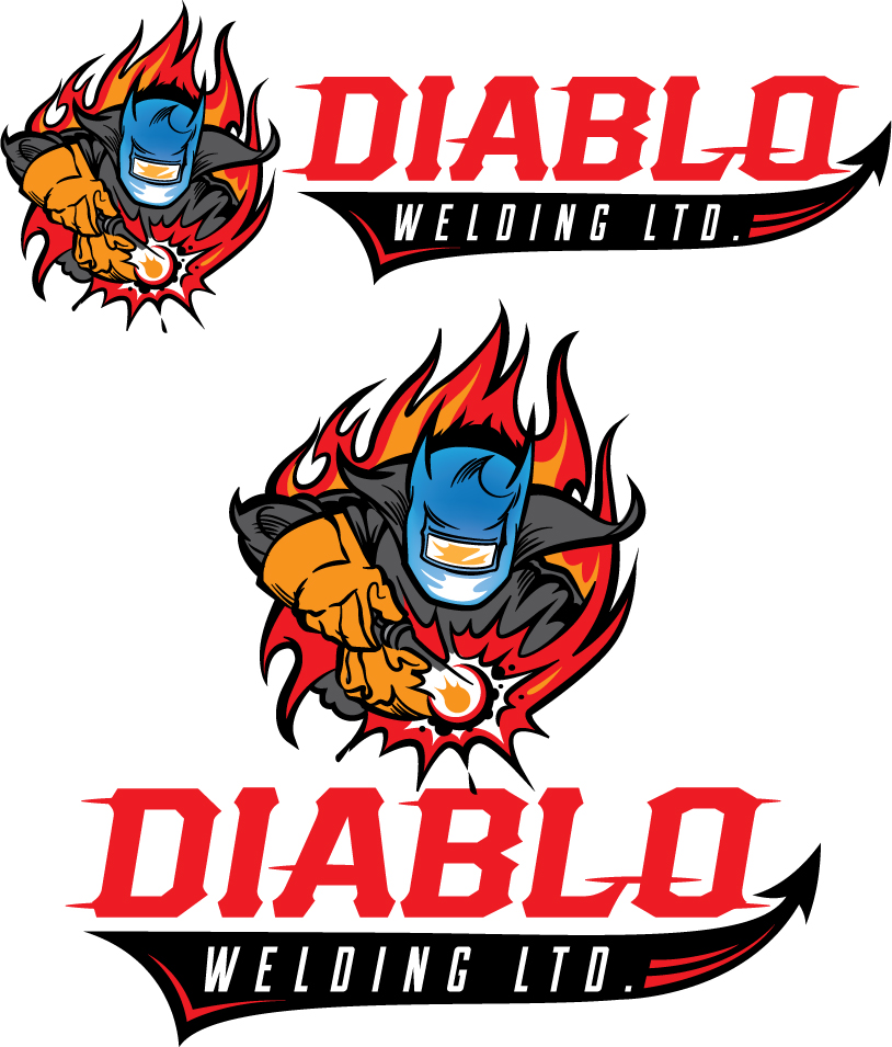 Logo Design by Vincent Barnhart - Entry No. 85 in the Logo Design Contest New Logo Design for Diablo Welding Ltd..