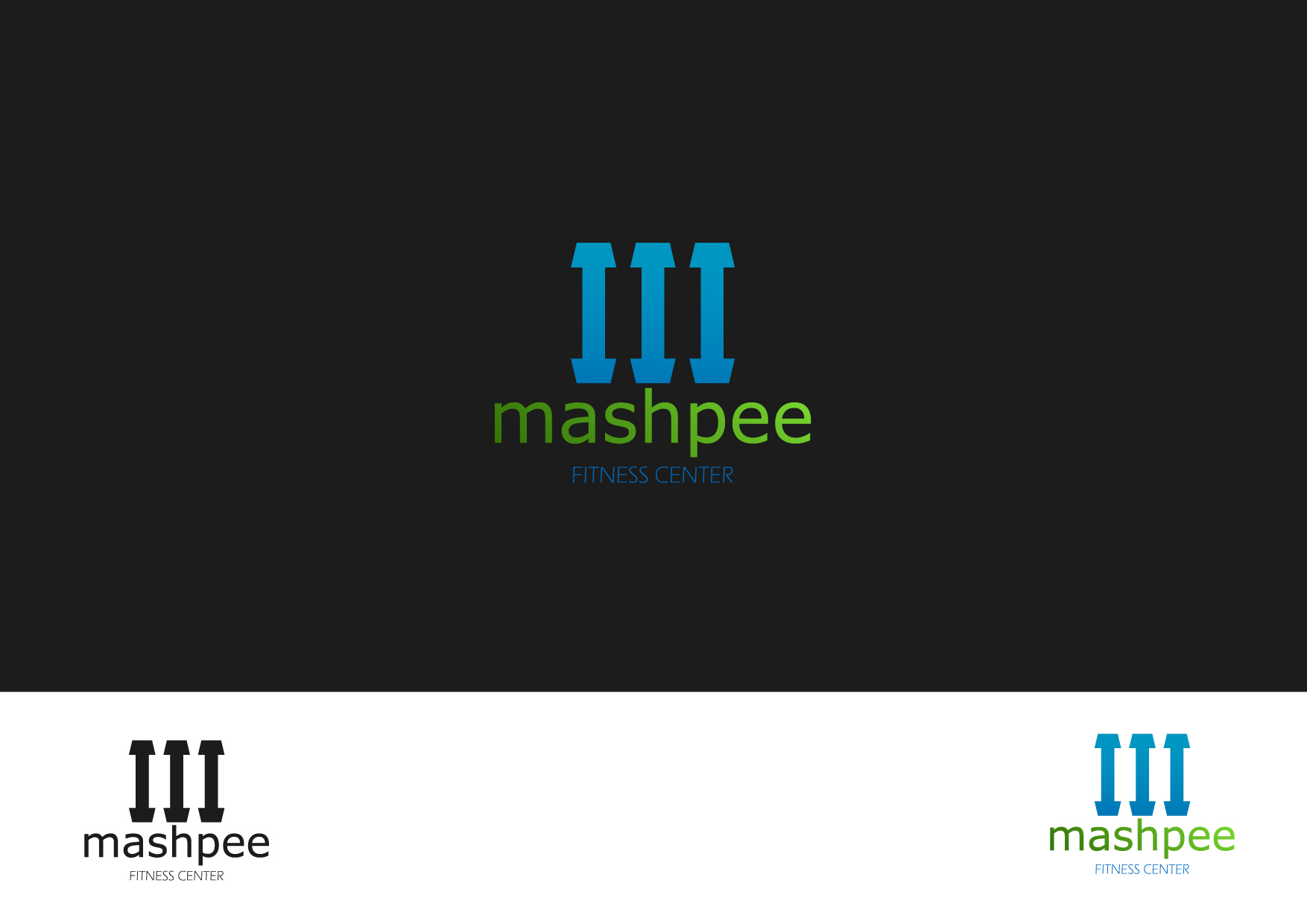 Logo Design by Osi Indra - Entry No. 37 in the Logo Design Contest New Logo Design for Mashpee Fitness Center.