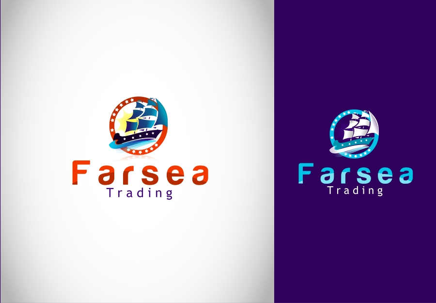 Logo Design by Private User - Entry No. 39 in the Logo Design Contest Unique Logo Design Wanted for Farsea Trading.