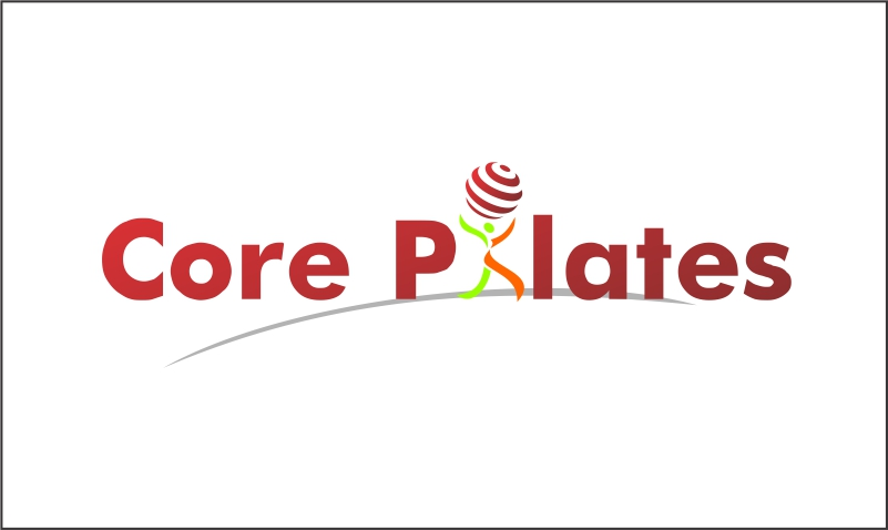 Logo Design by Hudy Wake - Entry No. 3 in the Logo Design Contest Core Pilates Logo Design.