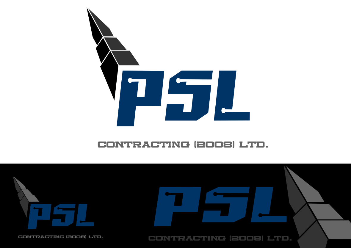 Logo Design by whoosef - Entry No. 38 in the Logo Design Contest PSL Contracting (2008) Ltd. Logo Design.