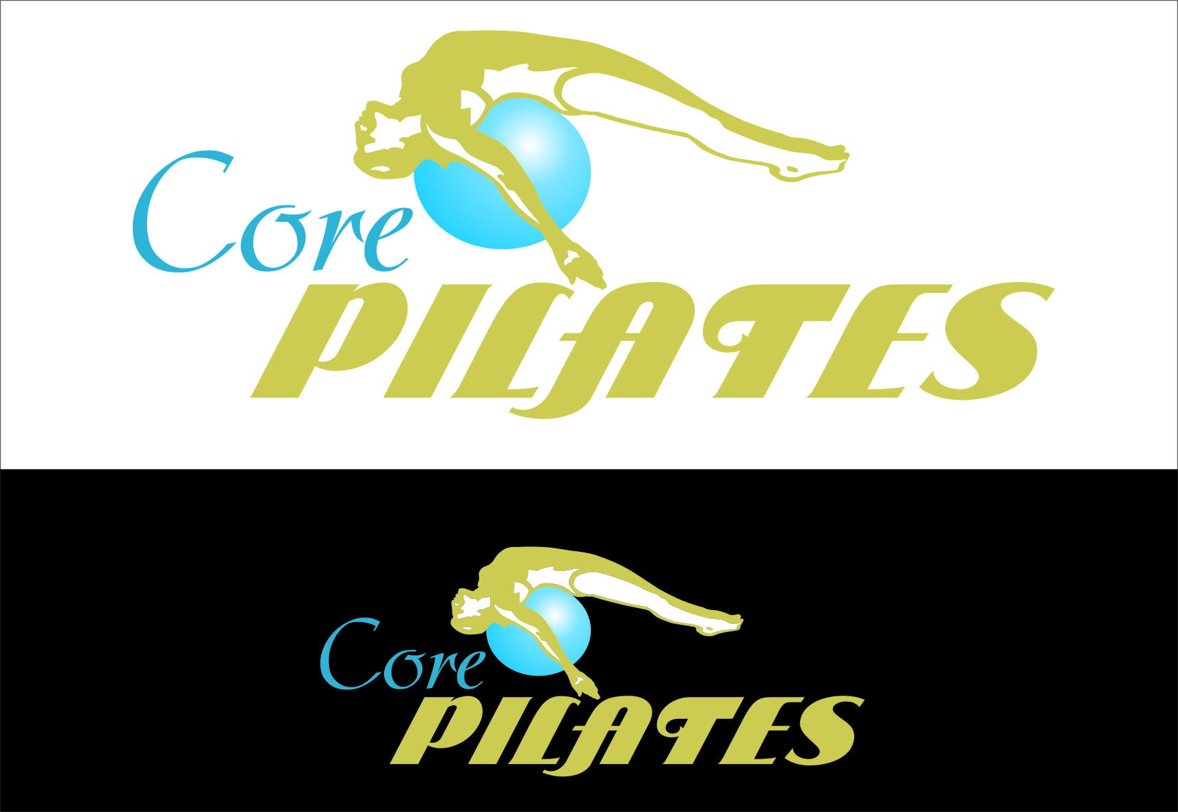 Logo Design by RasYa Muhammad Athaya - Entry No. 7 in the Logo Design Contest Core Pilates Logo Design.