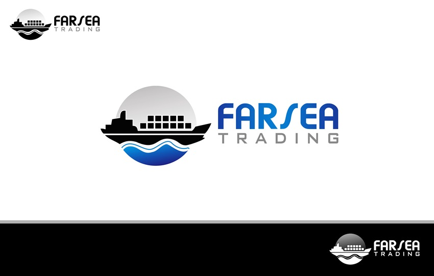 Logo Design by Respati Himawan - Entry No. 49 in the Logo Design Contest Unique Logo Design Wanted for Farsea Trading.
