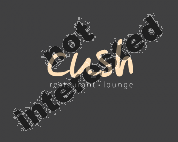 Logo Design by abbiedesigns - Entry No. 53 in the Logo Design Contest Cush Restaurant & Lounge Ltd..