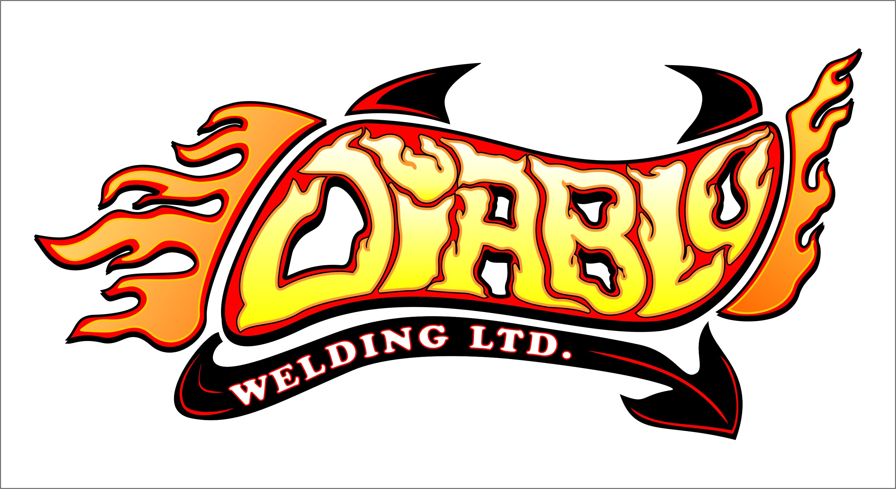 Logo Design by joca - Entry No. 88 in the Logo Design Contest New Logo Design for Diablo Welding Ltd..
