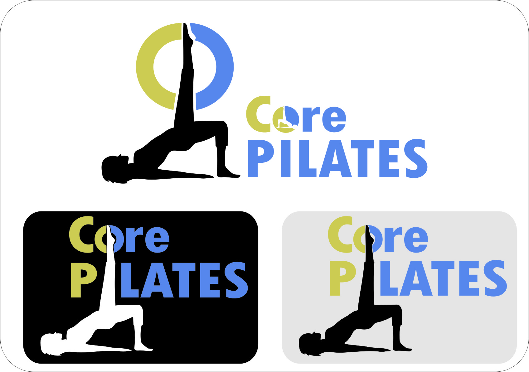 Logo Design by RasYa Muhammad Athaya - Entry No. 13 in the Logo Design Contest Core Pilates Logo Design.