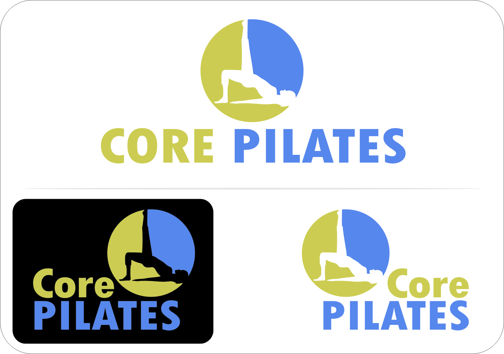 Logo Design by RasYa Muhammad Athaya - Entry No. 14 in the Logo Design Contest Core Pilates Logo Design.