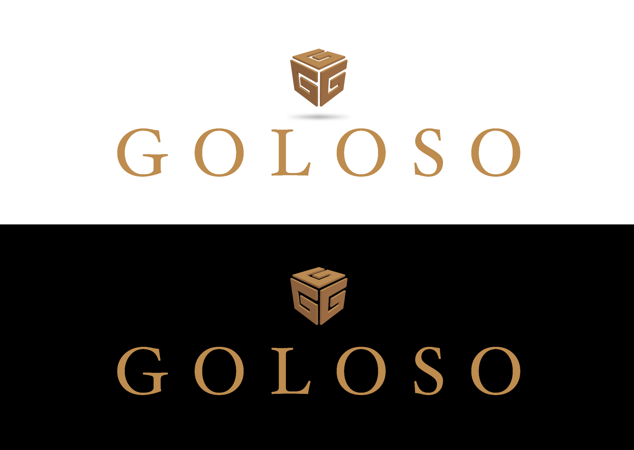 Logo Design by moidgreat - Entry No. 78 in the Logo Design Contest Unique Logo Design Wanted for Goloso.