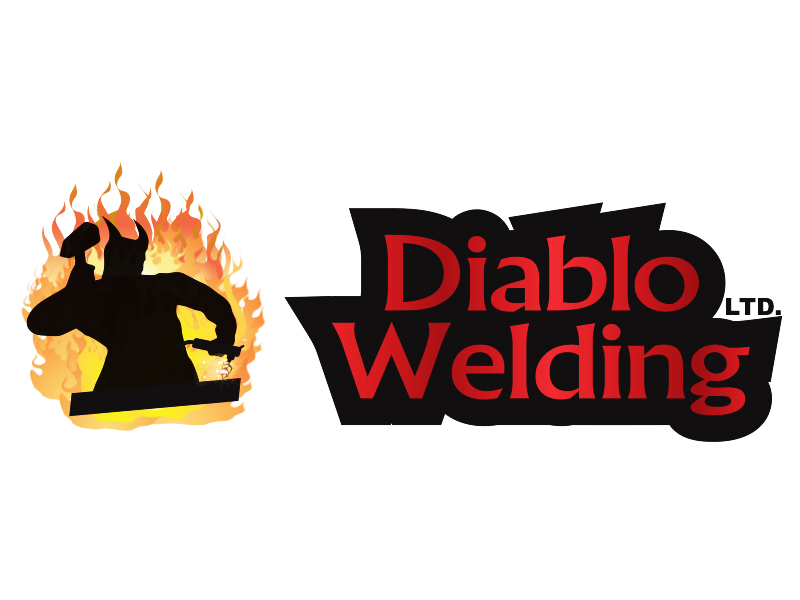 Logo Design by Mythos Designs - Entry No. 91 in the Logo Design Contest New Logo Design for Diablo Welding Ltd..