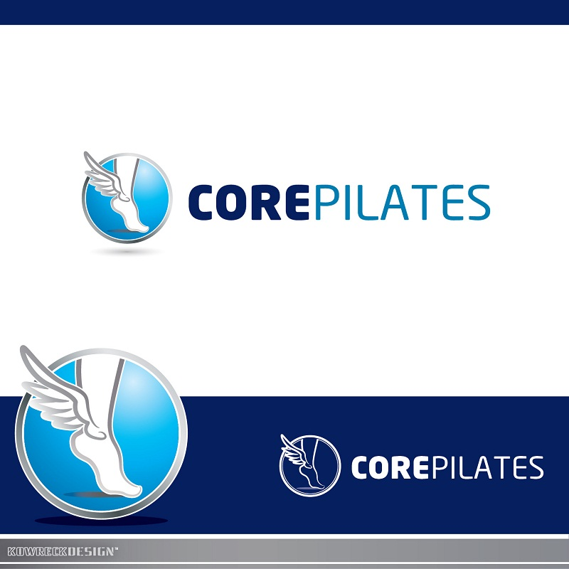 Logo Design by kowreck - Entry No. 19 in the Logo Design Contest Core Pilates Logo Design.