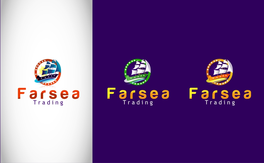 Logo Design by Private User - Entry No. 55 in the Logo Design Contest Unique Logo Design Wanted for Farsea Trading.