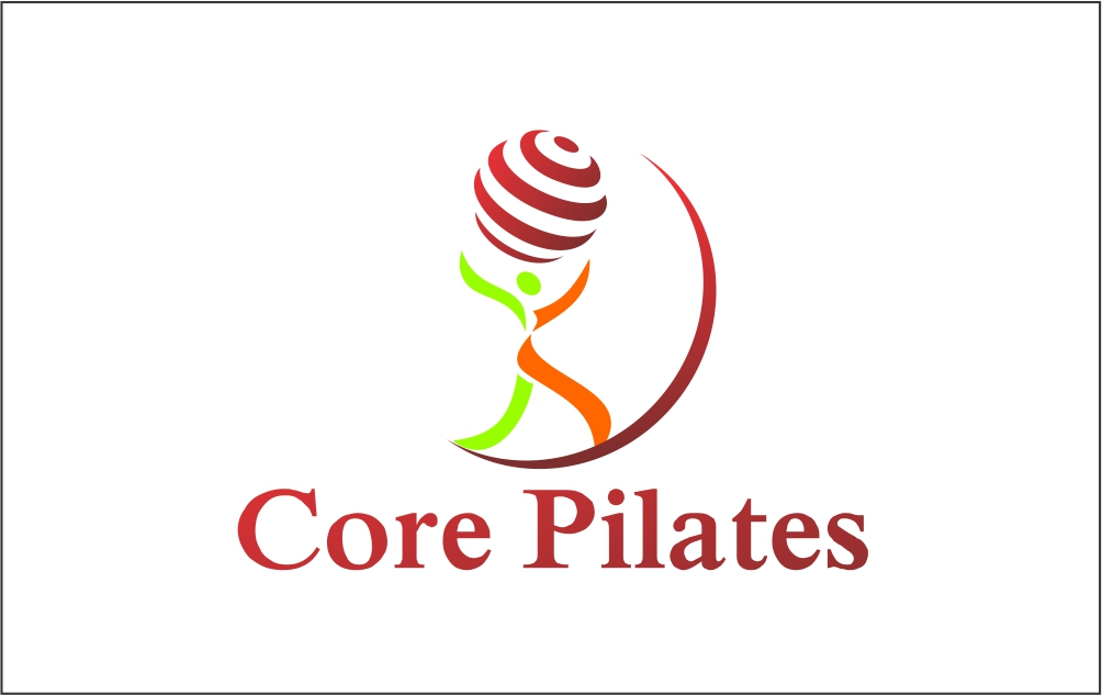 Logo Design by Hudy Wake - Entry No. 20 in the Logo Design Contest Core Pilates Logo Design.