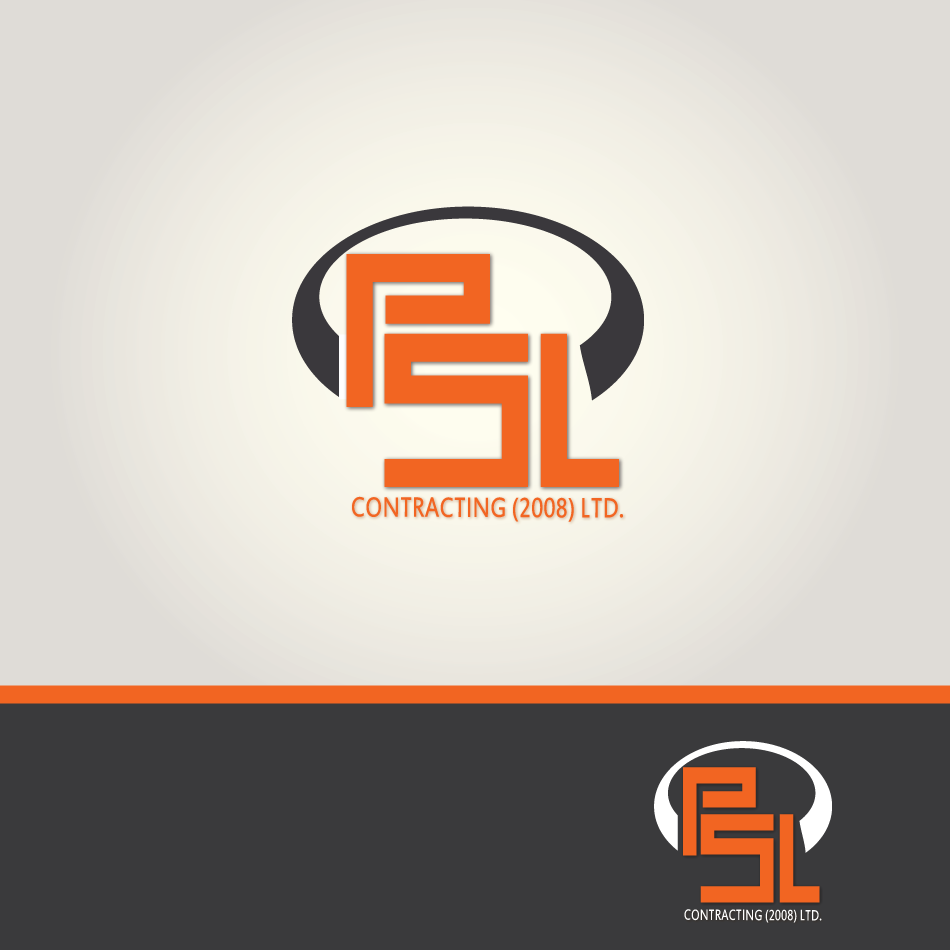 Logo Design by moonflower - Entry No. 42 in the Logo Design Contest PSL Contracting (2008) Ltd. Logo Design.