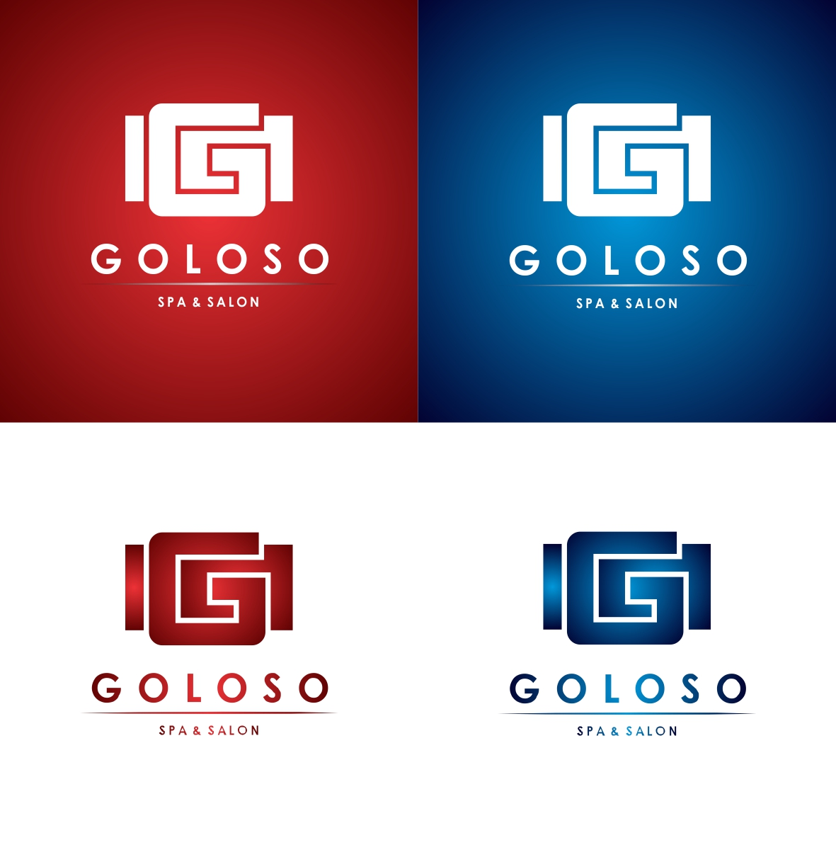 Logo Design by Hudy Wake - Entry No. 93 in the Logo Design Contest Unique Logo Design Wanted for Goloso.