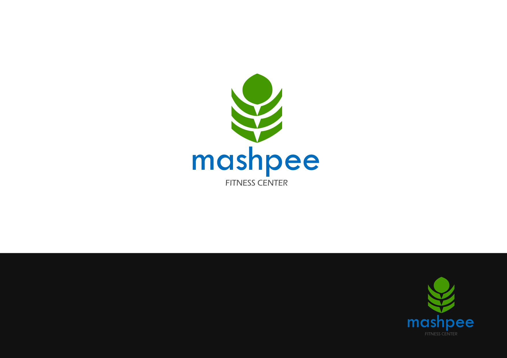 Logo Design by Osi Indra - Entry No. 60 in the Logo Design Contest New Logo Design for Mashpee Fitness Center.